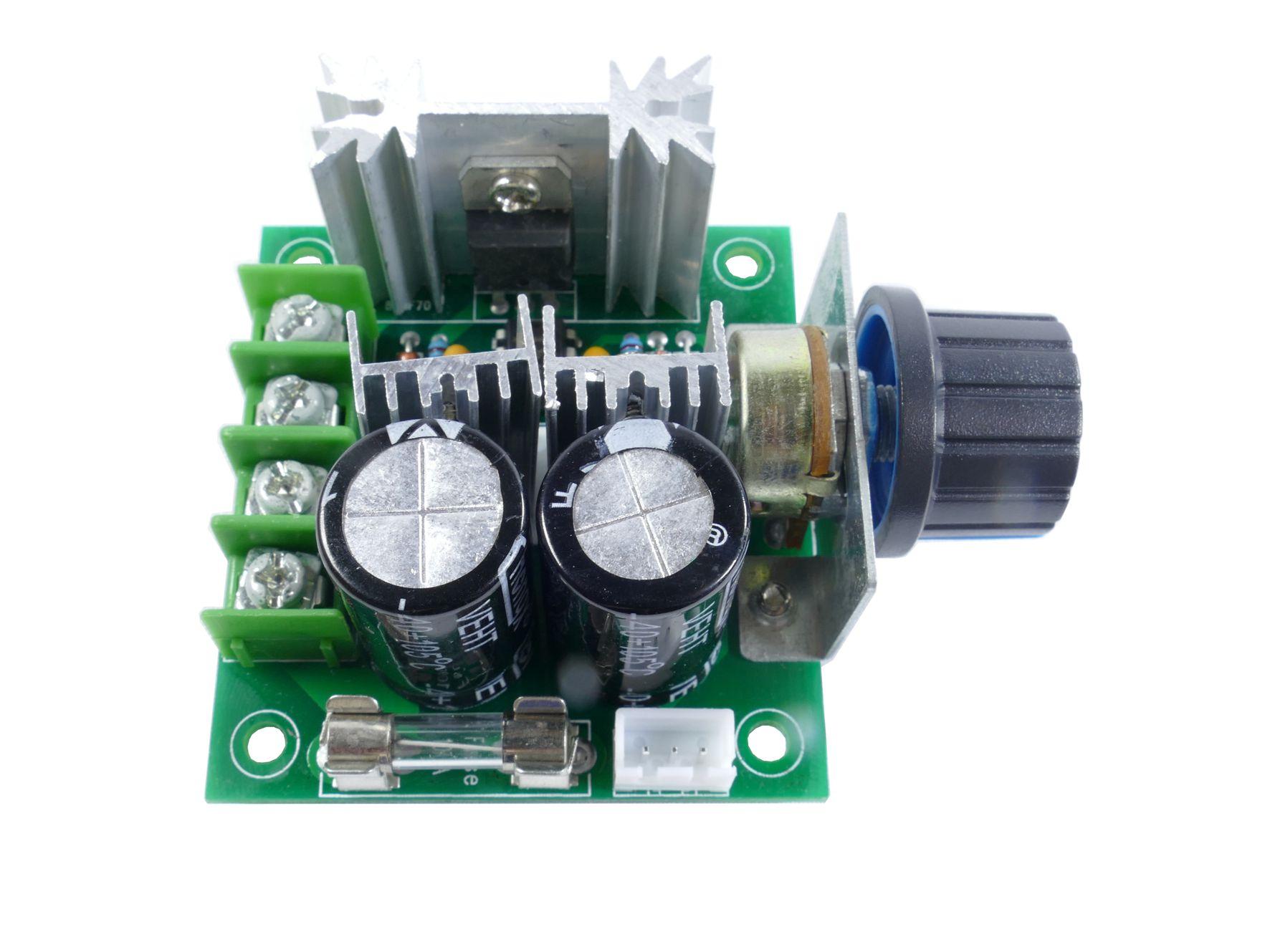 Podłącz silnik prądu stałego do arduino